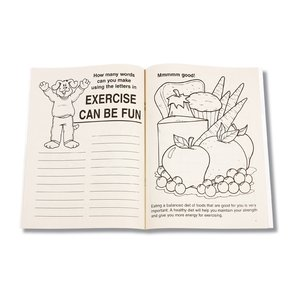 Exercise Can Be Fun Coloring Book