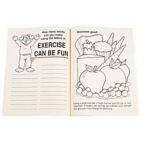 Exercise Can Be Fun Coloring Book Image 1 of 1