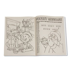 Season's Greetings Coloring Book Image 1 of 1