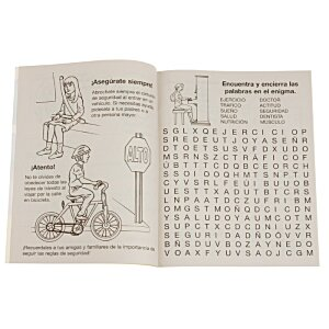 A Guide To Health & Safety Coloring Book - Spanish Image 1 of 1
