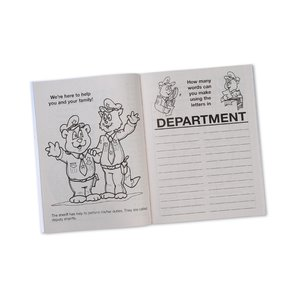 Your Sheriff is Your Friend Coloring Book