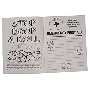 Know Your Emergency First Aid Coloring Book Image 1 of 1