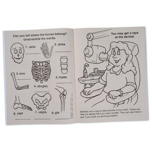 Learn About X-Rays Coloring Book Image 1 of 1