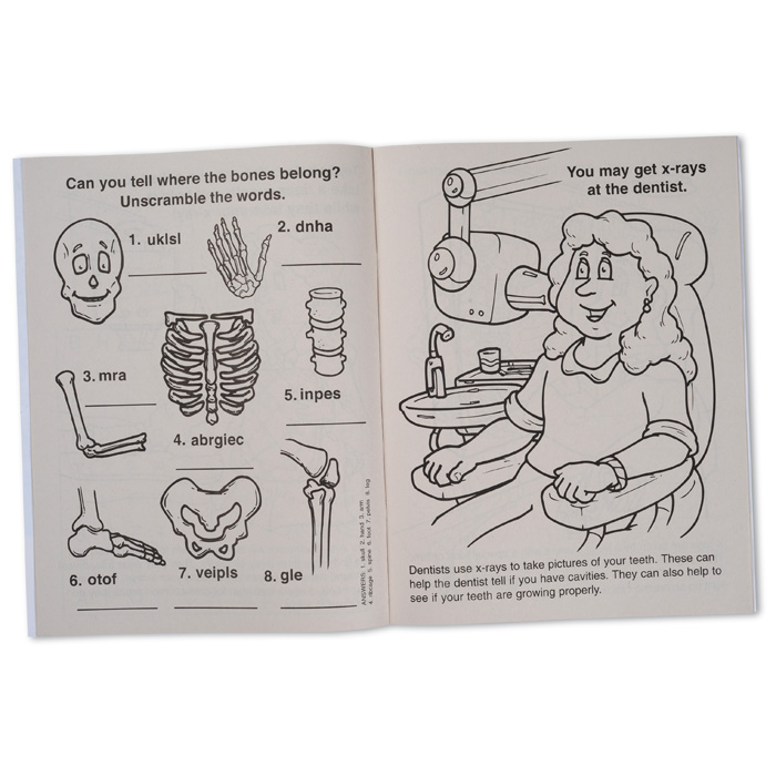 Learn About X Rays Coloring Book Image 1 Of
