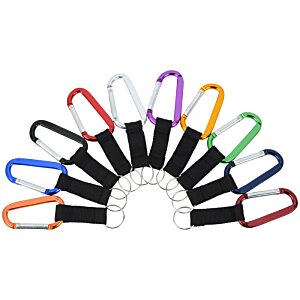 Anodized Carabiner Keyholder Image 1 of 1