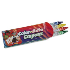 Crayon 4-Pack Image 1 of 3