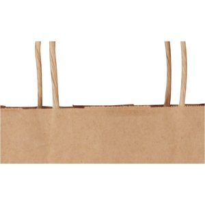 "Kraft Paper Brown Eco Shopping Bag – 19-1/4"" x 16"" Image 1 of 1"
