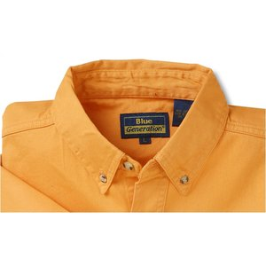 Blue Generation Fine SS Twill Shirt - Men's Image 2 of 2