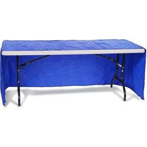 Open-Back Fitted Nylon Table Cover - 6' Image 1 of 2
