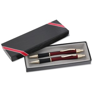 Monte Cristo Metal Pen & Pencil Set Image 1 of 3