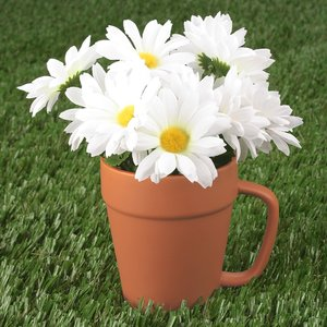 Flower Pot Mug - 14 oz. Image 1 of 1