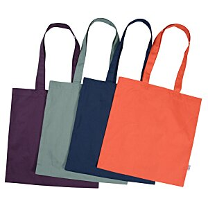 "Cotton Sheeting Colored Economy Tote - 15-1/2"" x 15"""