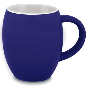 Matte Barrel Ceramic Mug - 16 oz. Image 1 of 1