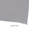 View Extra Image 4 of 4 of Serged Closed-Back Table Throw - 8' - Blank
