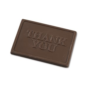 Business Card Chocolate Treat - Thank You Image 2 of 3