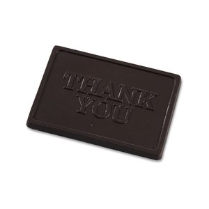 Business Card Chocolate Treat - Thank You Image 1 of 3