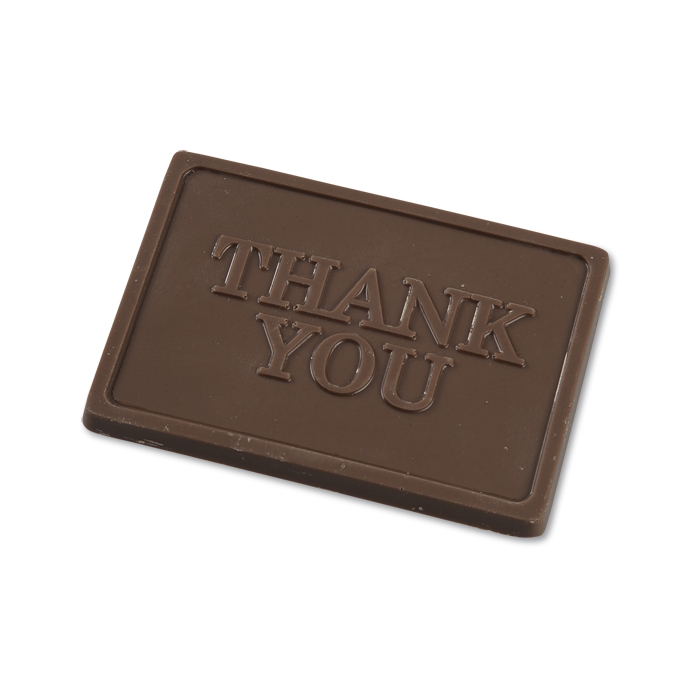 Business Card Chocolate Treat - Thank You - 24 hr