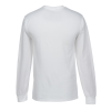 View Extra Image 2 of 2 of Fruit of the Loom Long Sleeve 100% Cotton T-Shirt - White - Screen