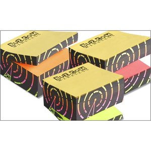 Post-it® Neon Rainbow Cubes Image 1 of 1