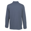 View Extra Image 2 of 2 of Classic Cotton Pique Long Sleeve Polo - Men's