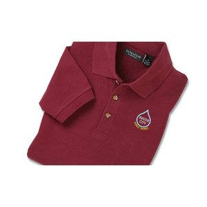 Ultra Club Collection 100% Cotton Pique Golf Shirt Image 3 of 3