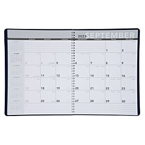 Leatherette Monthly Planner Image 1 of 3