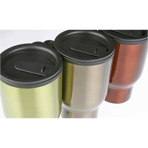 Colored Stainless Steel Travel Mug - 15 oz. Image 1 of 5