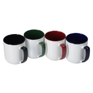 Windsor Duo-Tone Mug - 17 oz. Image 1 of 1