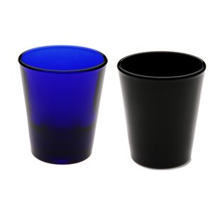 Shot Glass - 1.5 oz. Tapered - Colors Image 2 of 2