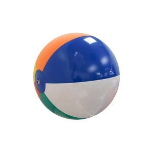 "Beach Ball - 12"" Multi Color Panel"