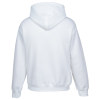 Gildan 50/50 Heavyweight Hoodie - Applique Twill - White Image 2 of 3
