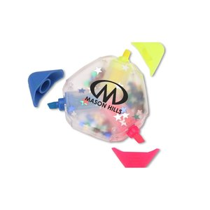 TriMark Confetti Highlighter - Star Image 1 of 1
