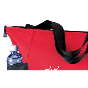 Double Pocket Zippered Tote - Screen
