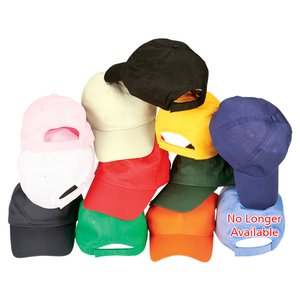 Price-Buster Cotton Twill Cap - Screen Image 1 of 2