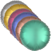 """View Image 3 of 4 of Foil Balloon - 17"""" - Round"""
