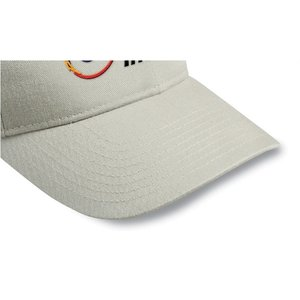 Brushed-Cotton 6-Panel Cap - Embroidered Image 2 of 3