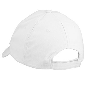 Brushed-Cotton 6-Panel Cap - Embroidered Image 1 of 3
