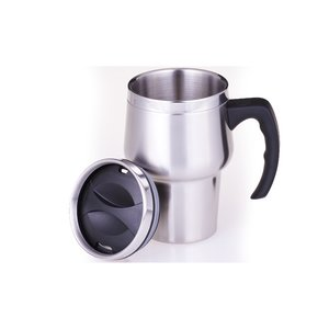 Stainless Steel Travel Mug - 14 oz. Image 1 of 2