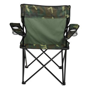 Camo Folding Chair with Carrying Bag Image 1 of 2