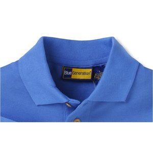 Blue Generation Superblend Pique Polo - Men's Image 1 of 3