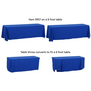 Convertible Table Throw - 6' to 8' - 24 hr Image 2 of 5