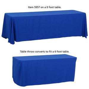 Convertible Table Throw - 6' to 8' - 24 hr Image 3 of 5