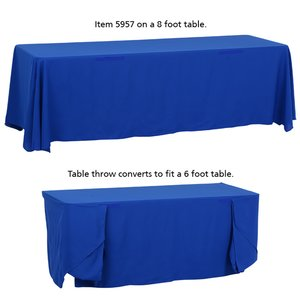 Convertible Table Throw - 6' to 8' - 24 hr Image 4 of 5