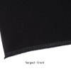 View Image 4 of 5 of Serged Open-Back Polyester Table Throw - 6' - Full Color