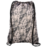 View Extra Image 1 of 1 of Drawstring Sportpack - 18 inches x 14 inches - Digital Camo - 24 hr