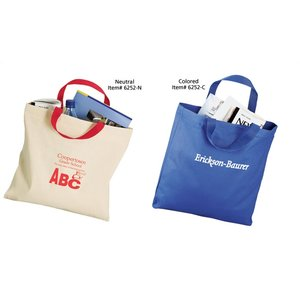 Economy Tote Bag -  Medium - Colored Image 1 of 3