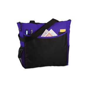 Two-Tone Tote Bag - Full Color Image 2 of 4