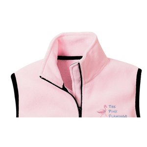 Port Authority Fleece Full Zip Vest - Ladies' Image 2 of 2