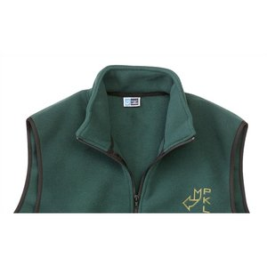 Port Authority Fleece Full Zip Vest - Men's Image 1 of 2