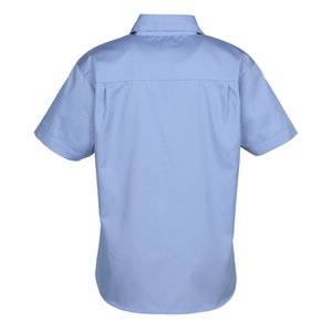 Blue Generation SS Teflon Treated Twill Shirt - Ladies' Image 2 of 3